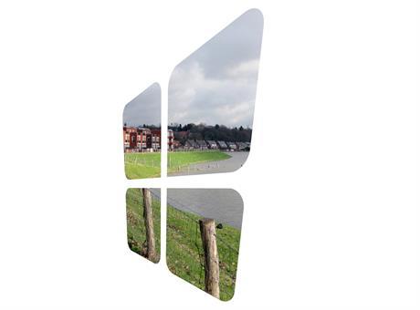 Logo de Woningstichting Uiterwaarden
