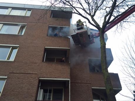 Brandweeroefening Riemsdijkstraat