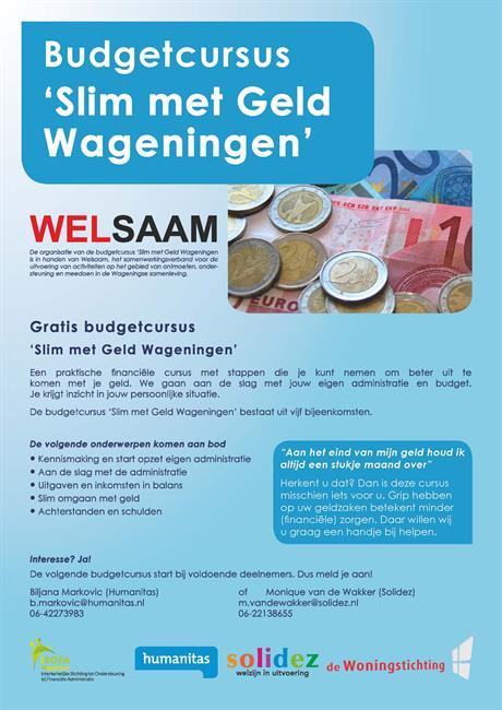 Budgetcursus 'Slim met Geld Wageningen'