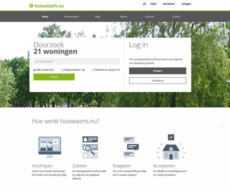 Nieuwe website Huiswaarts.nu