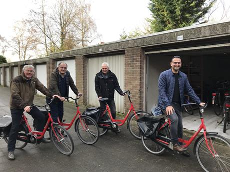 Nieuwe fietsen Welkom in Wageningen